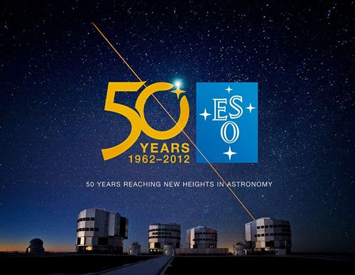 Cartel para el 50 aniversario del Observatorio. Foto europapress