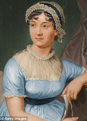 Retrato de Jane Austen. Foto dailymail.co.uk