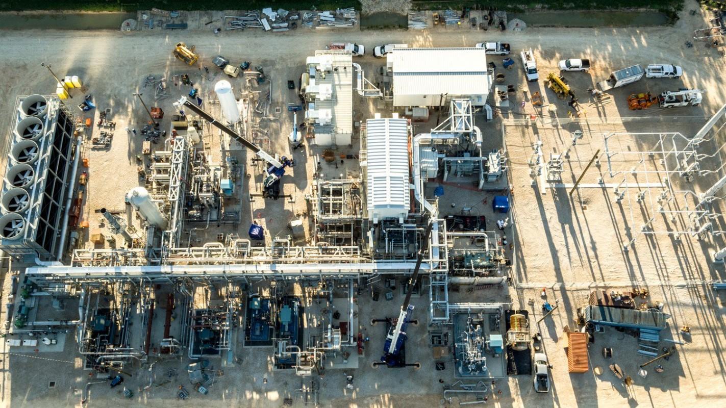planta de gas natural no emite carbono
