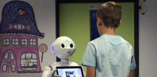 Robots como tutores para niños